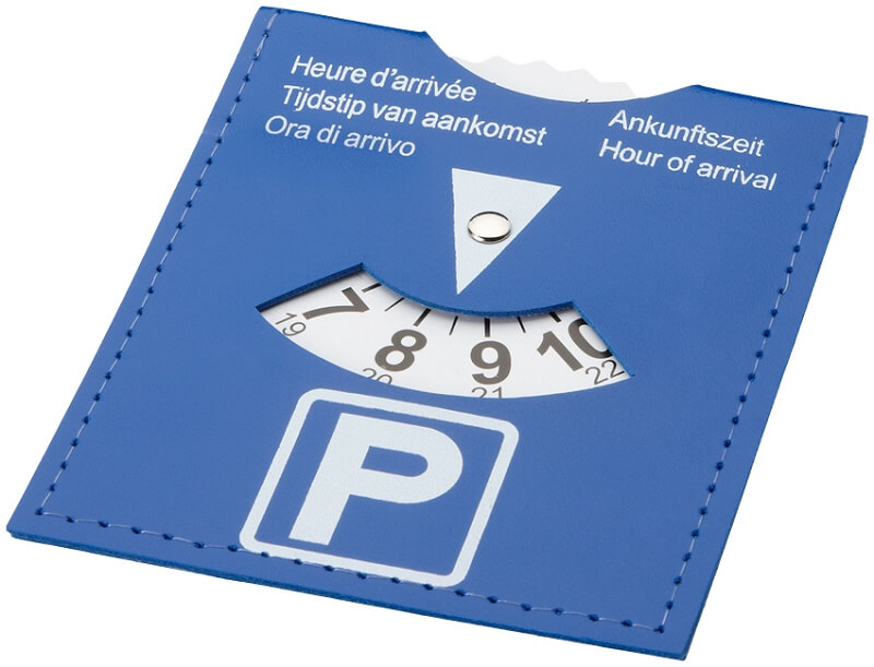 как выглядит парковочный диск в италии