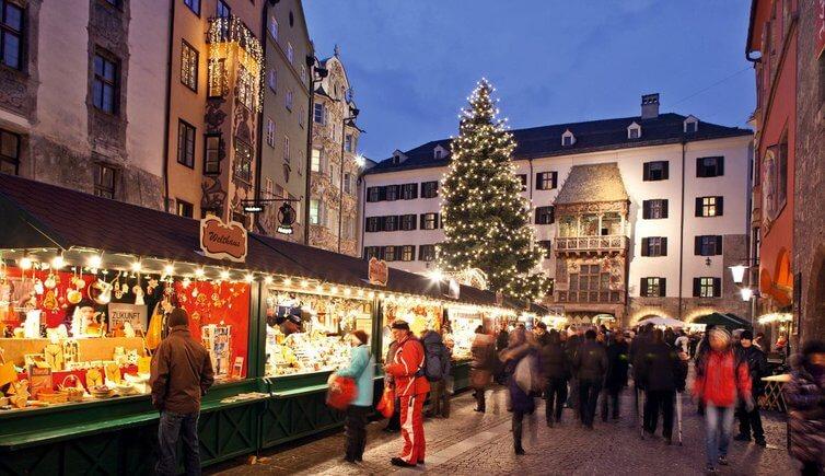 рождественские ярмарки австрии иннсбрук