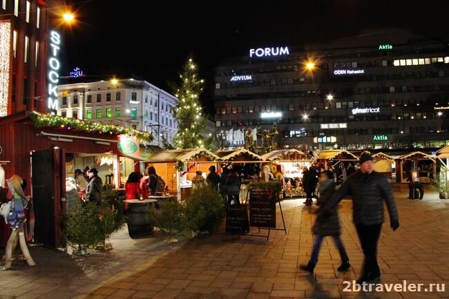 рождественские базары финляндия