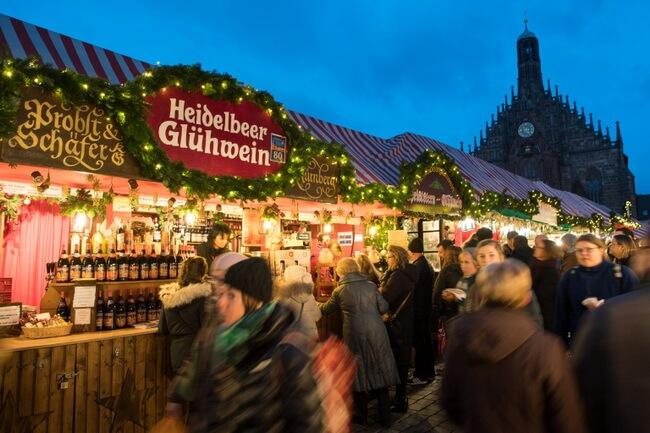 рождественская ярмарка нюрнберг