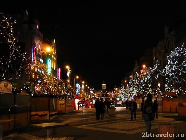 рождественский базар вацлавская площадь