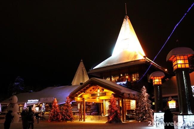 рождественские базары рованиеми