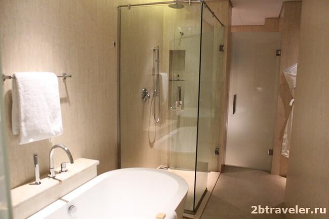ванная комната fairmont