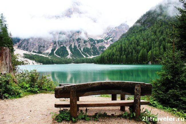 озеро брайес италия