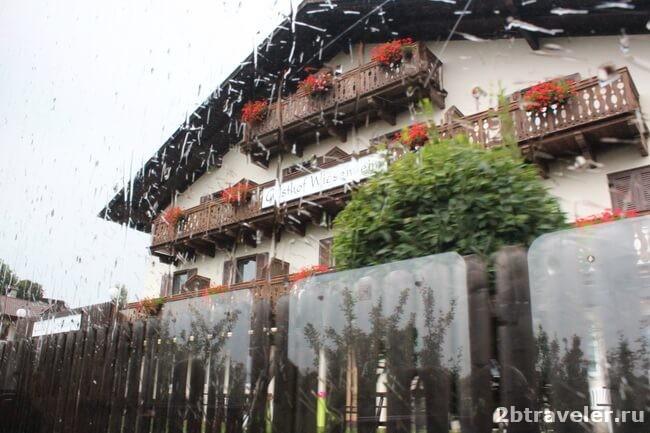 альпийский поезд северная италия