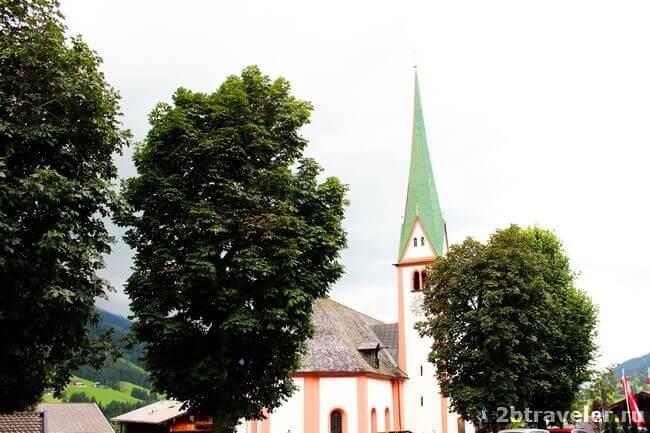 церковь святого освальда альпбах