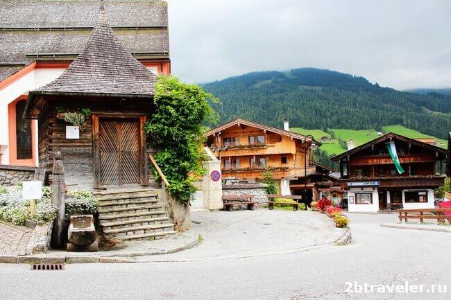 самая красивая деревня австрии
