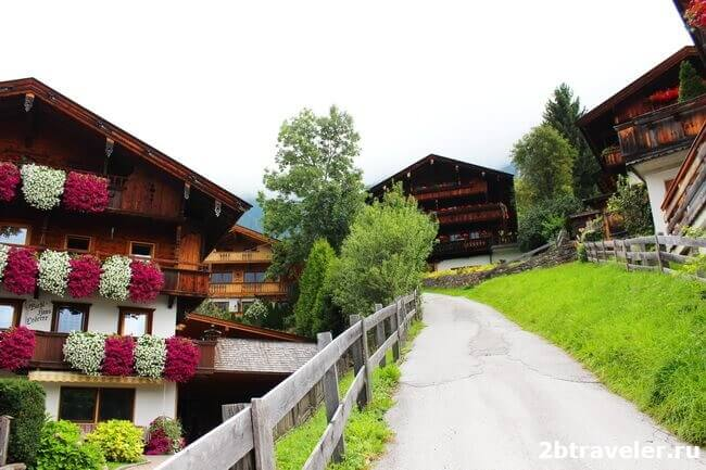 деревня alpbach австрия