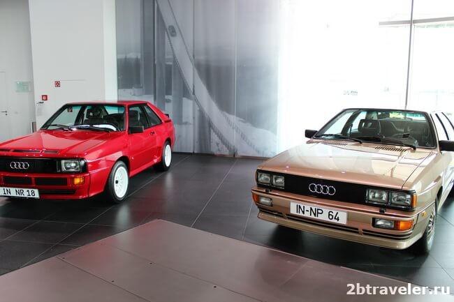 в музей ауди из мюнхена