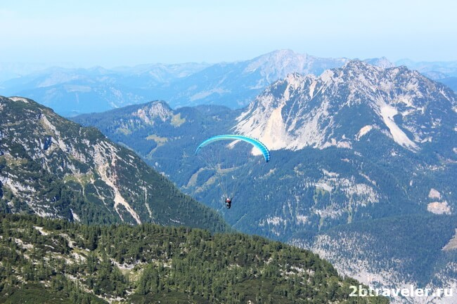 австрия горы гальштат