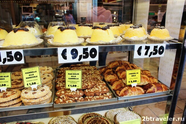 национальные сладости бергамо