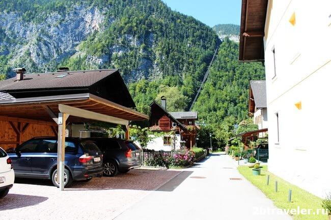 деревня гальштат австрия