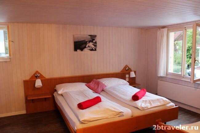отель в швейцарских альпах