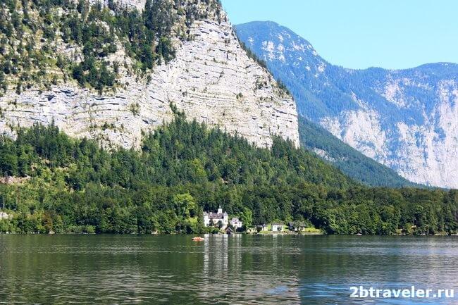 озеро гальштат австрия