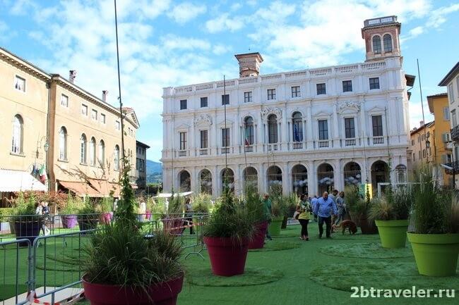 новая ратуша бергамо