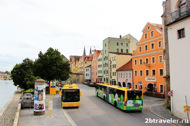 транспорт регенсбурга