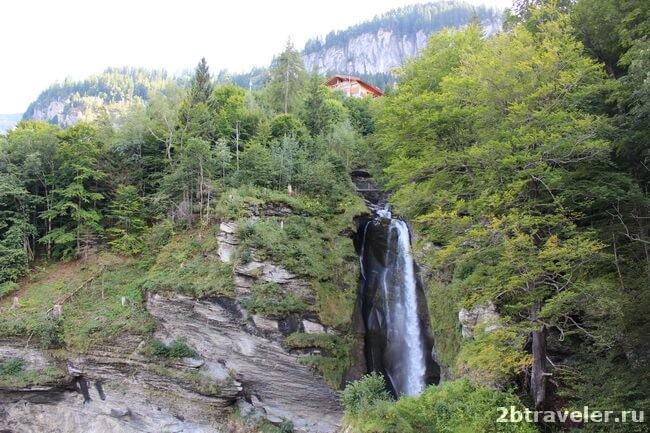 шверцария рейхенбахский водопад