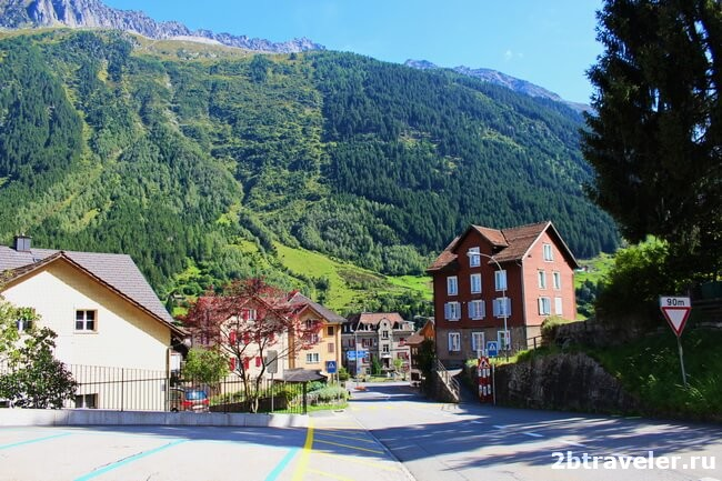 towns in the alps
