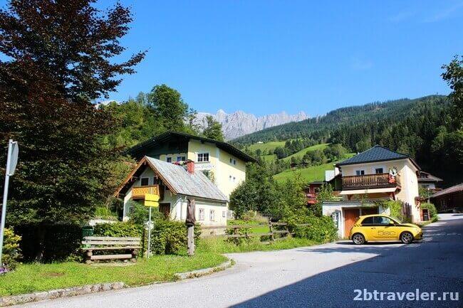 живописные места австрии