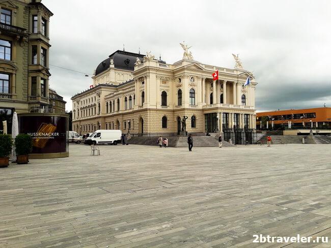 оперный театр цюрих
