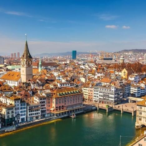 Zurich Airport (Switzerland): how to get to the city