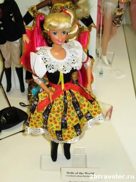 барби музей игрушек прага