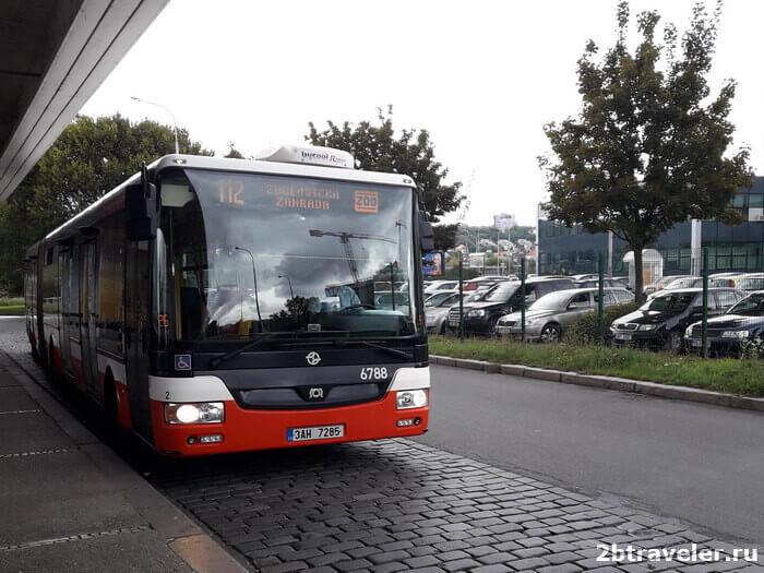 автобус до зоопарка праги
