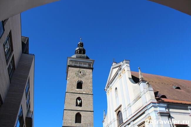 черная башня ческе будеевице