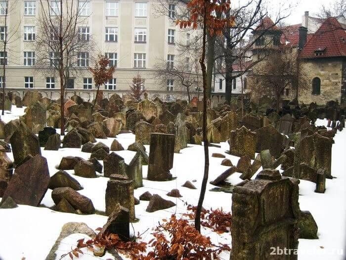 еврейское кладбище прага