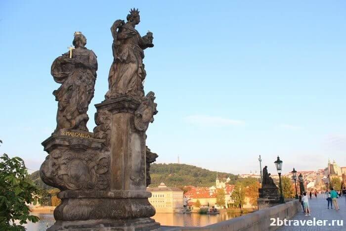 скульптуры карлов мост