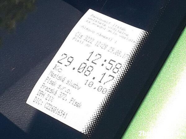 парковки в чехии цена