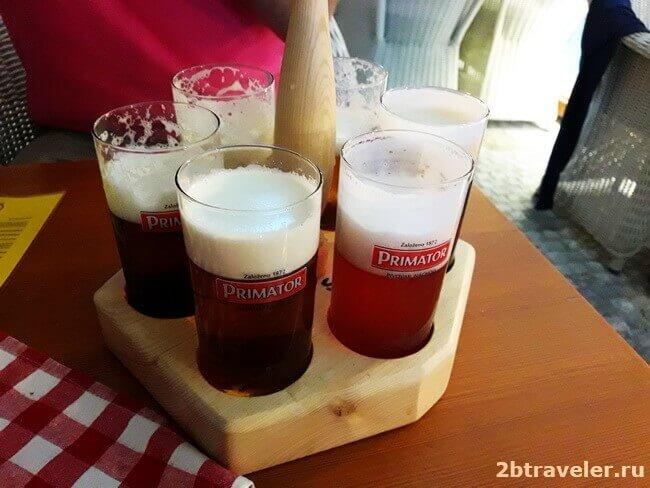 цены на пиво в чехии