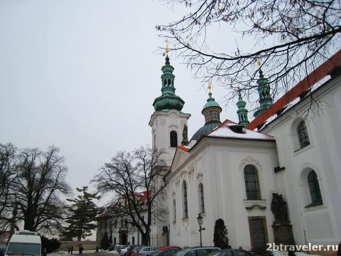 страговский монастырь прага