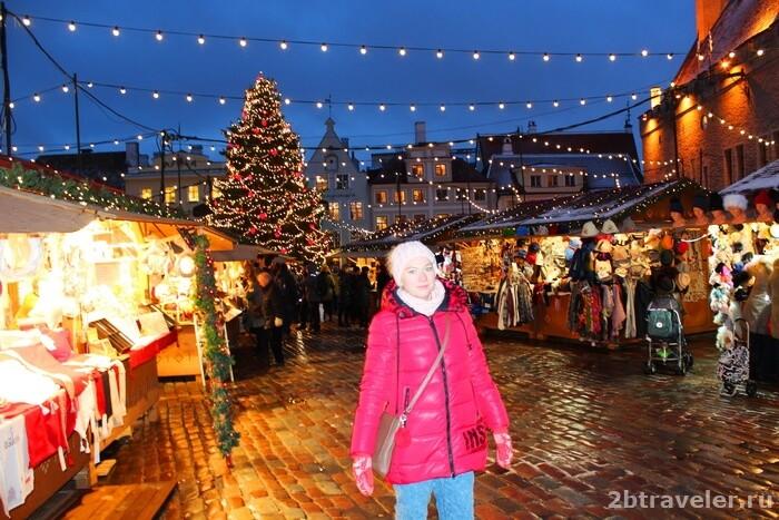 рождественская ярмарка таллин