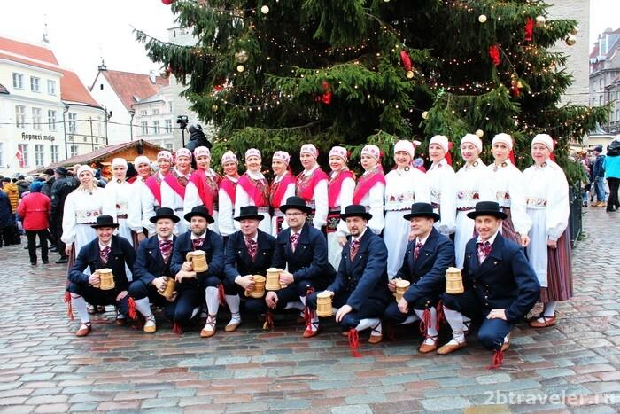 в эстонию на рождество