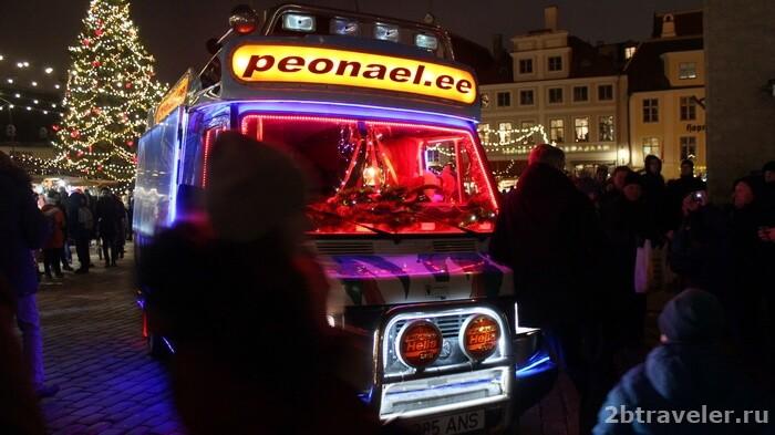 рождественский рынок таллин