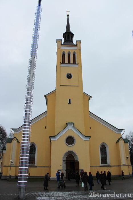 Церковь Святого Иоанна площадь свободы