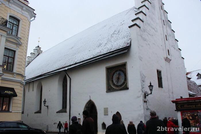 церковь святого духа таллин
