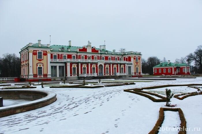 дворец екатерины таллин
