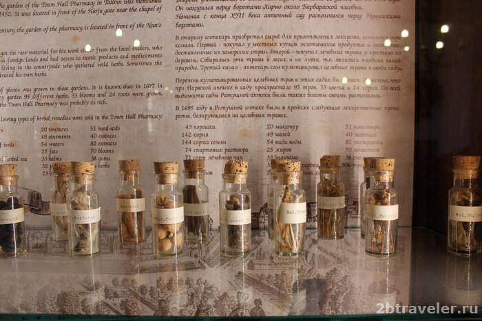ратушная аптека таллин