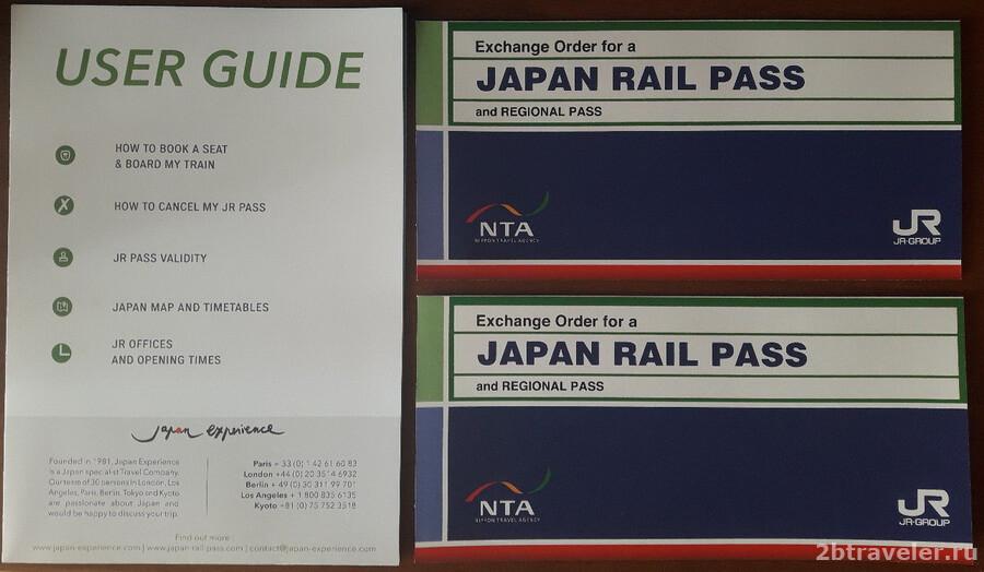 japan rail pass как купить