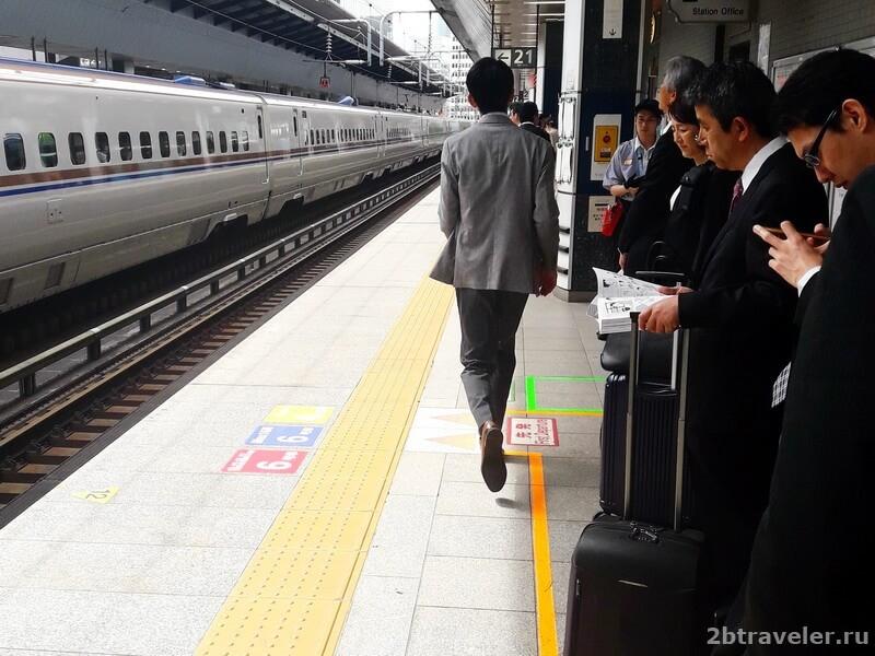 поезда в японии как пользоваться