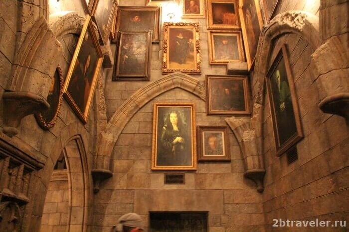 замок хогвартс осака