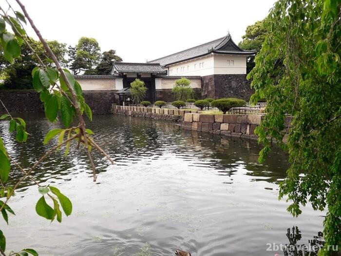 императорский доворец токио район