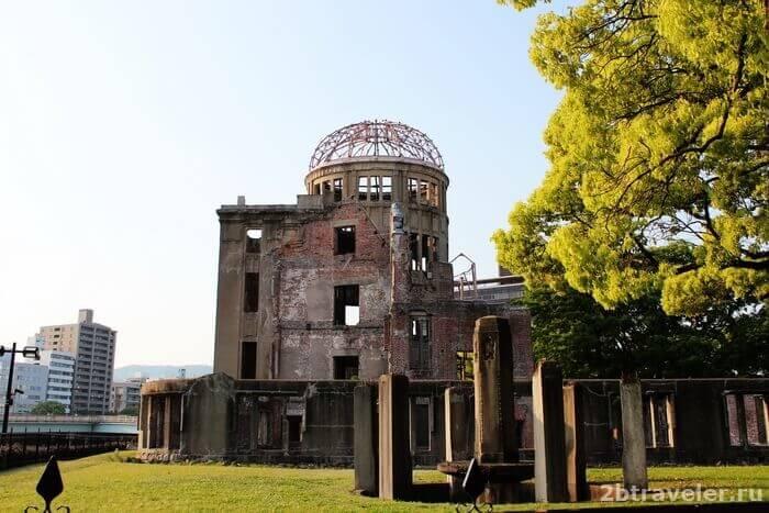 хиросима дома атомной бомбы