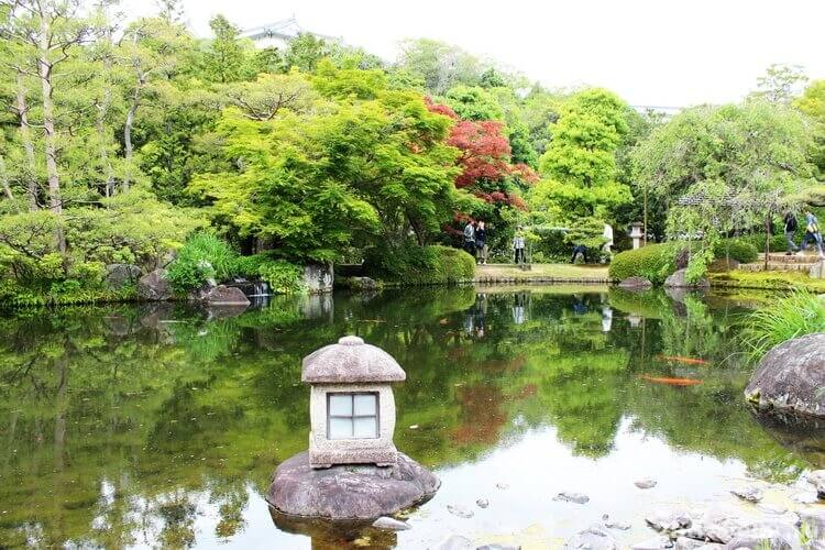 koko-en garden himeji