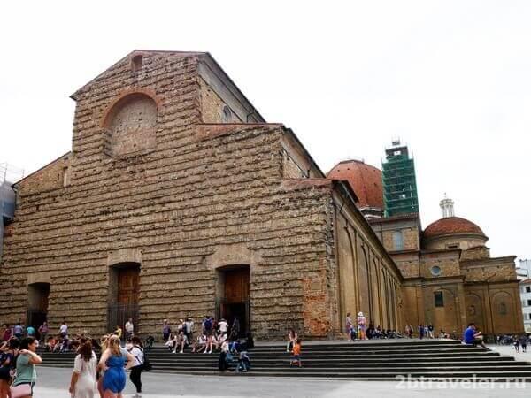 базилика сан лоренцо флоренция