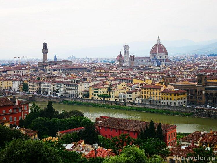 площадь микеланджело флоренция