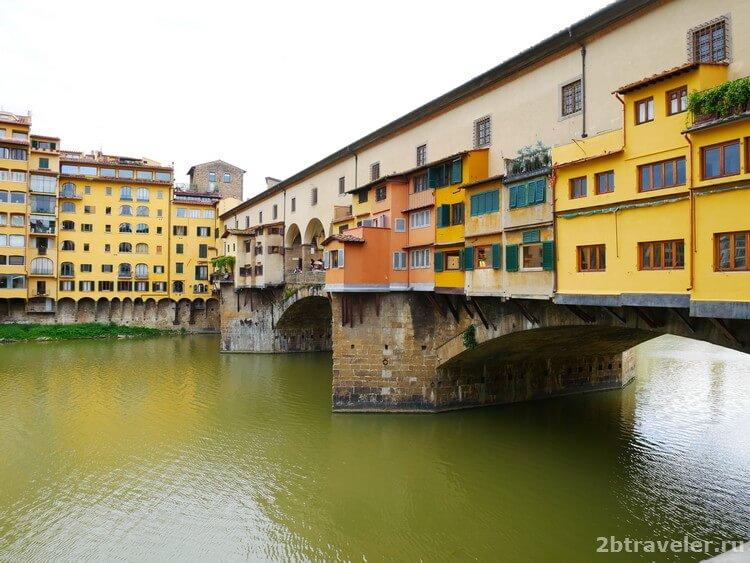 золотой мость флоренция