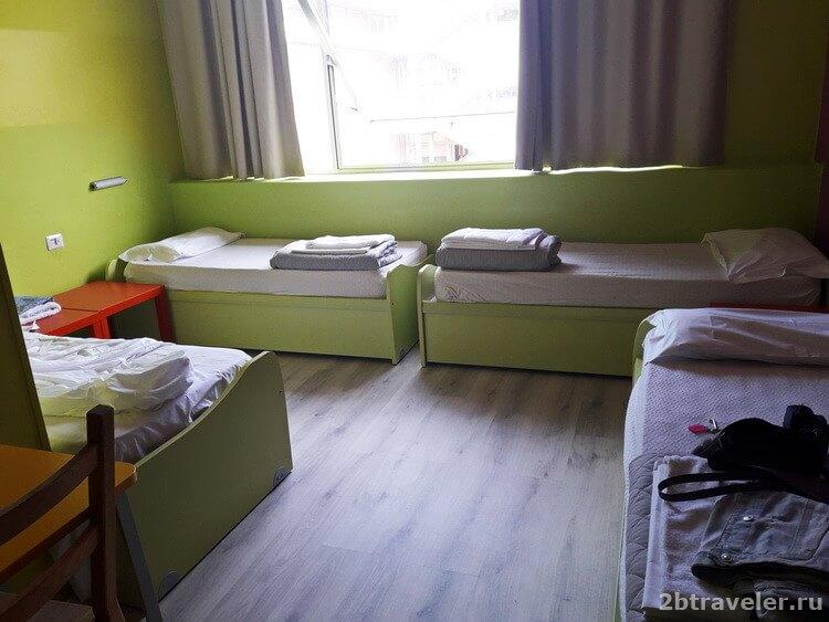 недорогой отель в центре флоренции